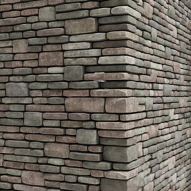 Brick granite stone many part n1 / Декоративный кирпич для отделки