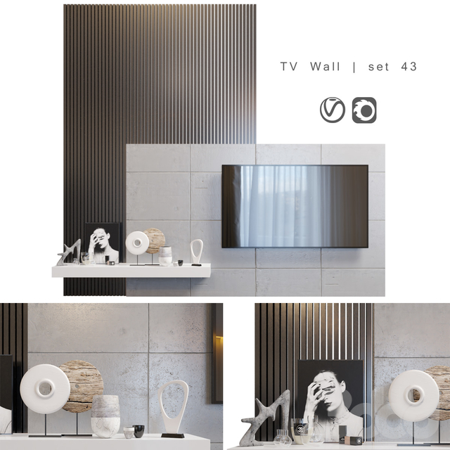 TV Wall | set 43