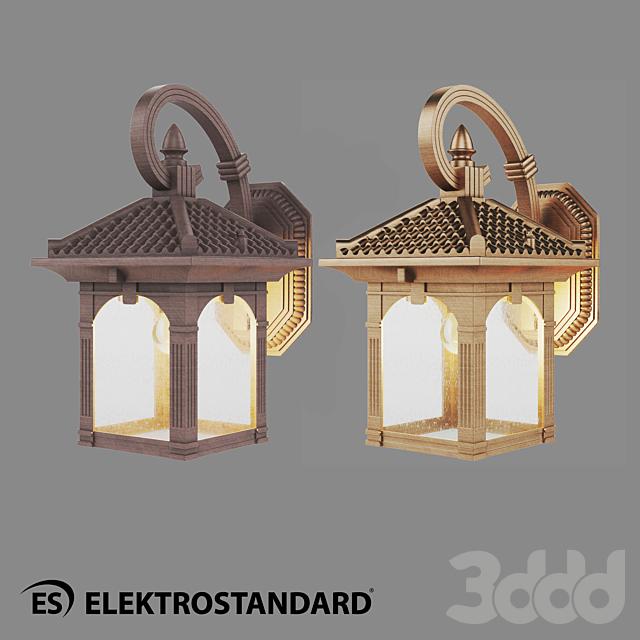 ОМ Уличный настенный светильник Elektrostandard GL 1021D Corvus