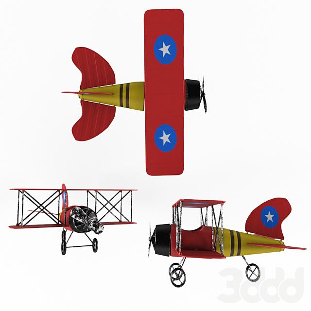 Hempel Model Plane Ornament