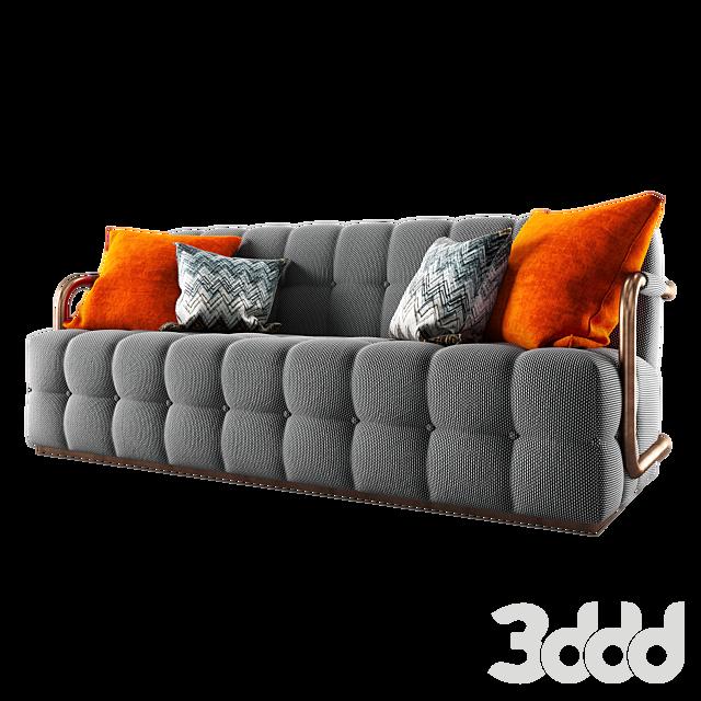 Theodore Alexander Fresh Arm Sofa