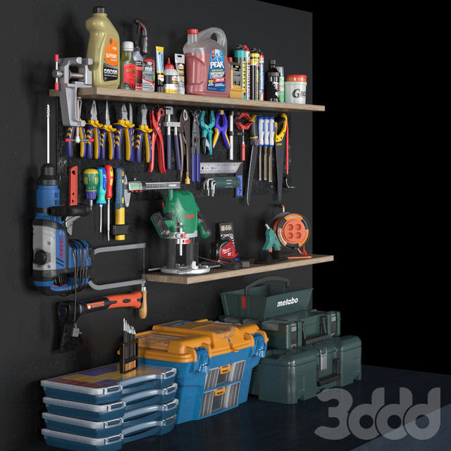 garage tools set 3