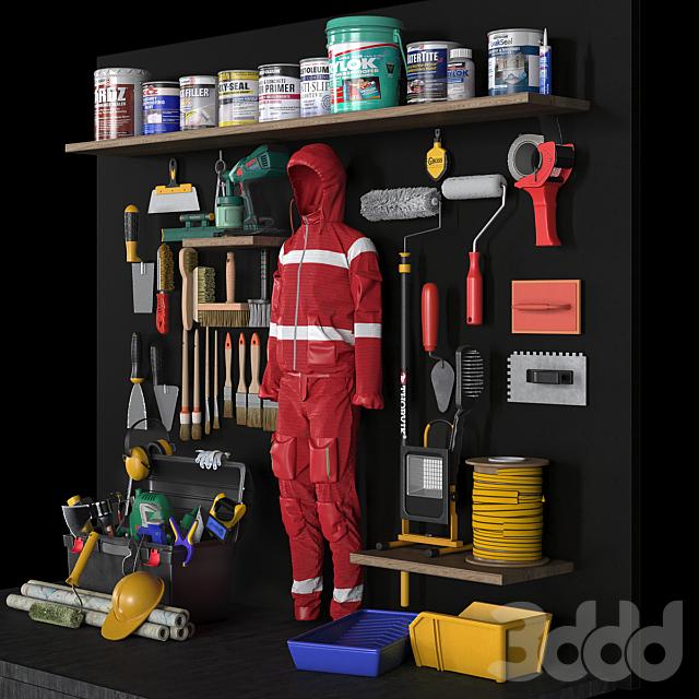 garage tools set 9