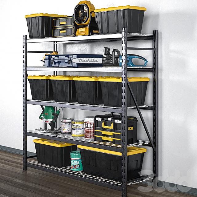 garage tools set 12