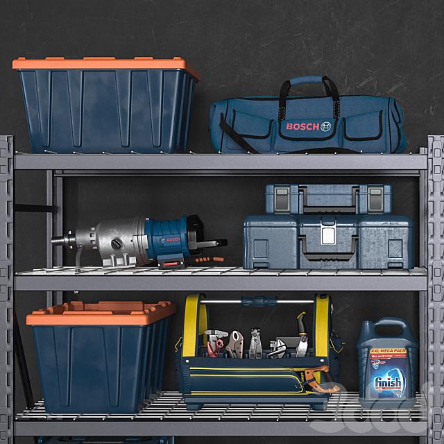 garage tools set 14