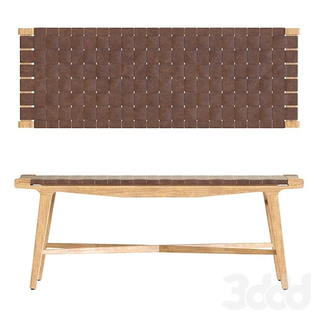 Crate&Barrel Taj Bench