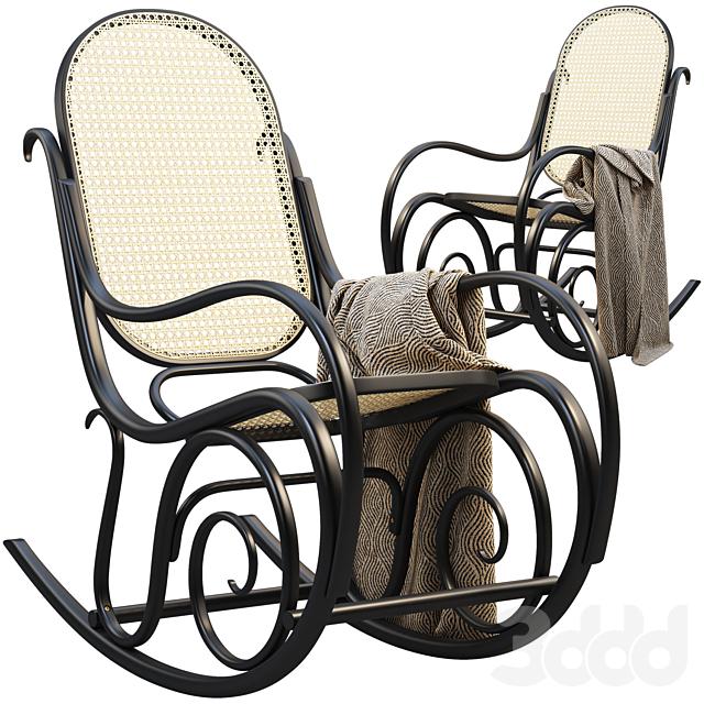 Schaukelstuhl Lounge Chair
