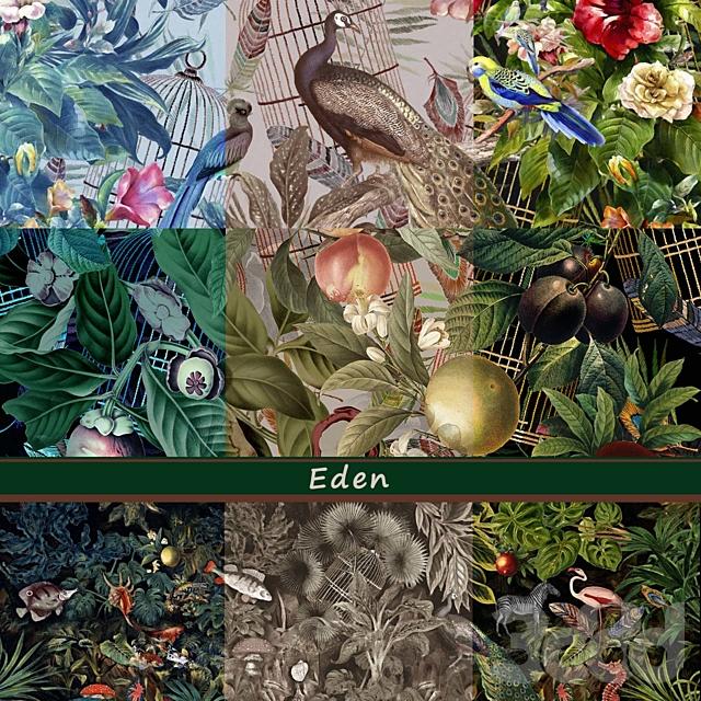 Дизайнерские обои Eden pack1