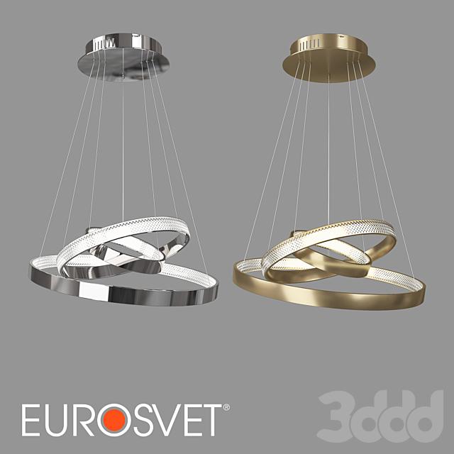 ОМ Подвесной светодиодный светильник Eurosvet 90176/3 Posh