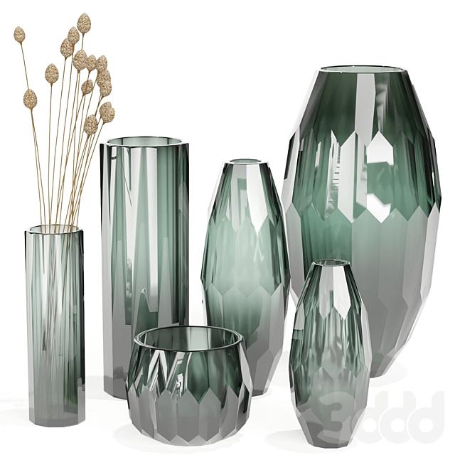 Klassik Studio Vases (Olive Set)