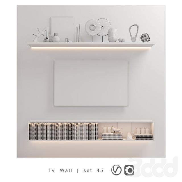 TV Wall | set 45