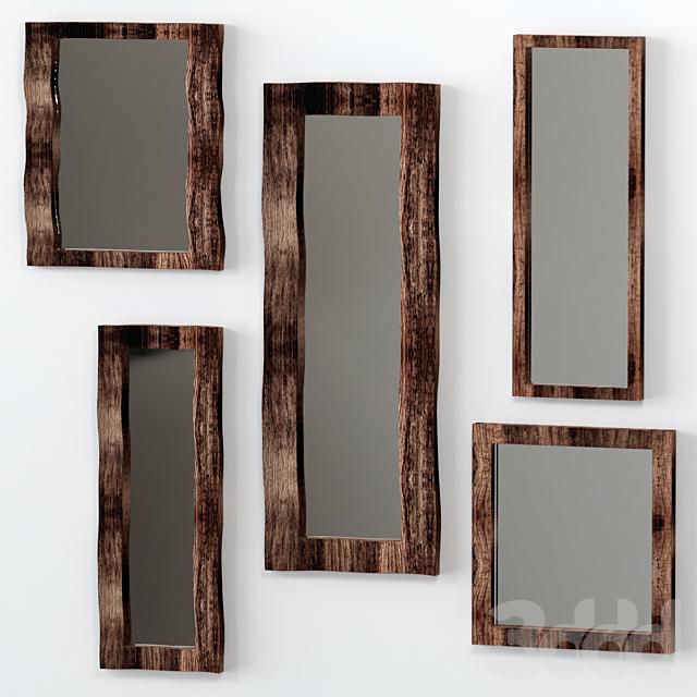 5 зеркал из слэба