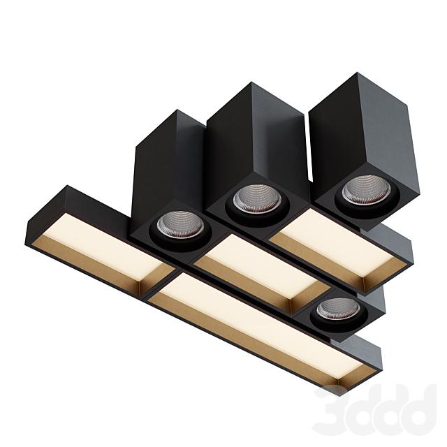 Modular Lighting Instruments QBINI Set