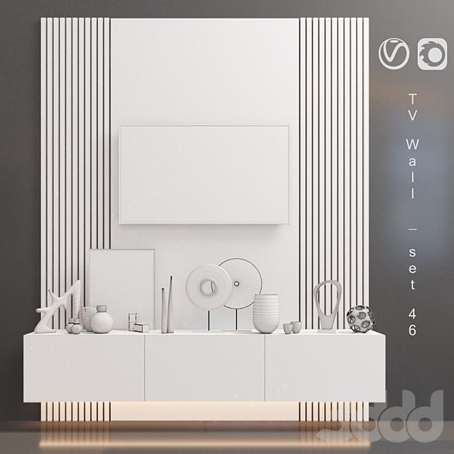 TV Wall   set 46