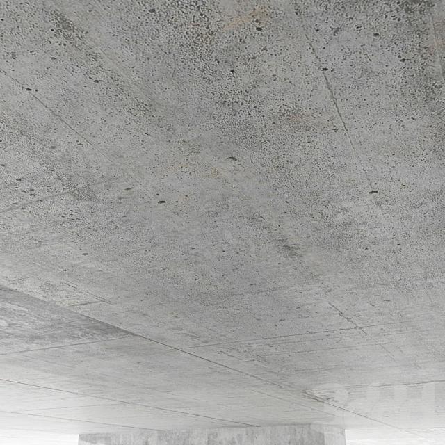 Бетонный потолок