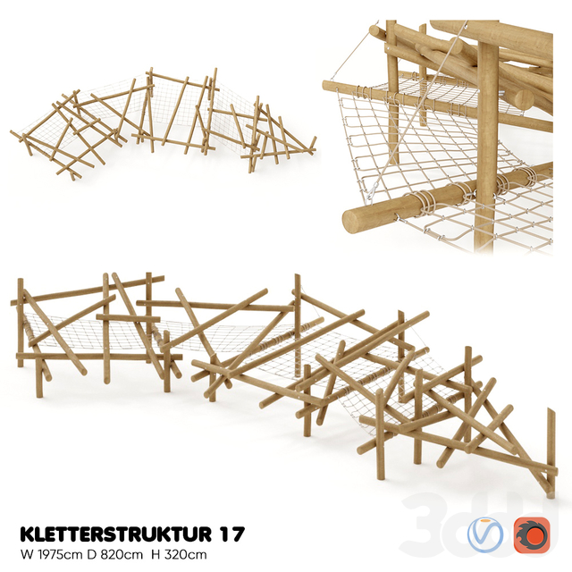 RITCHER. KLETTERSTRUKTUR 17