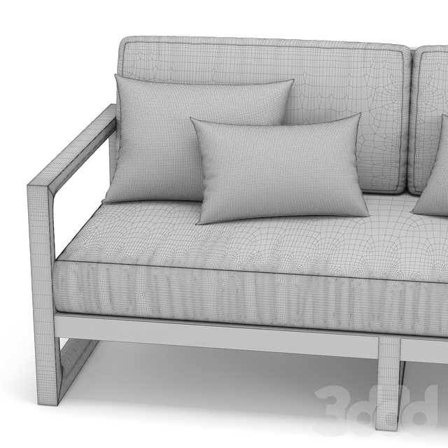 RH Outdoor Navaro sofa