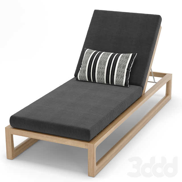 RH Outdoor Navaro chaise