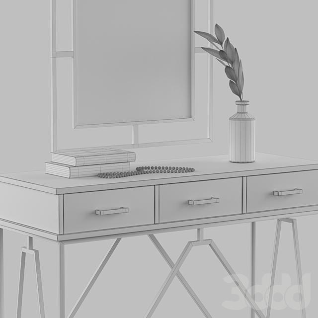 Консоль CITY LOFT с зеркалом