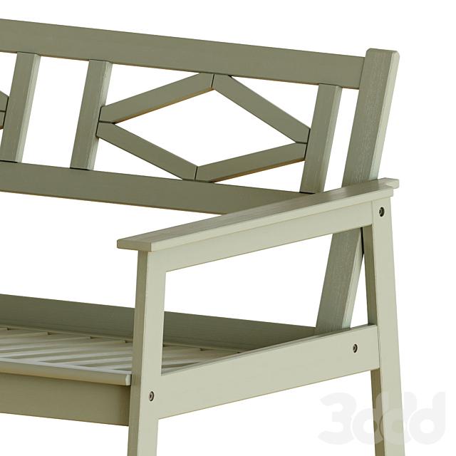 Ikea Bondholmen Table and Chairs Set 2