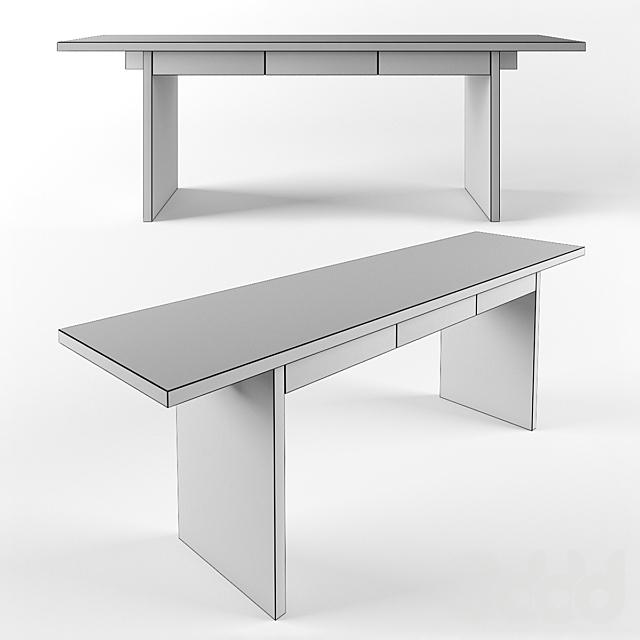 стол письменный от мастерской IVAN CHUDOV