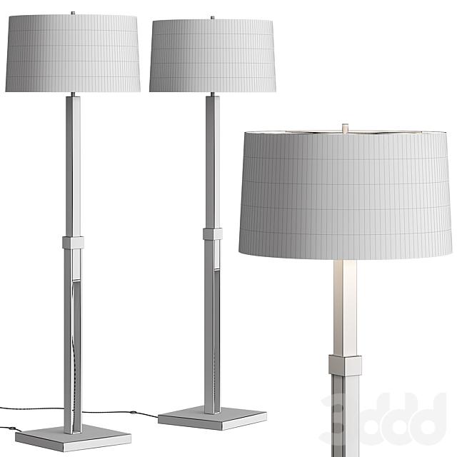 Crate & Barrel Denley Floor Lamp