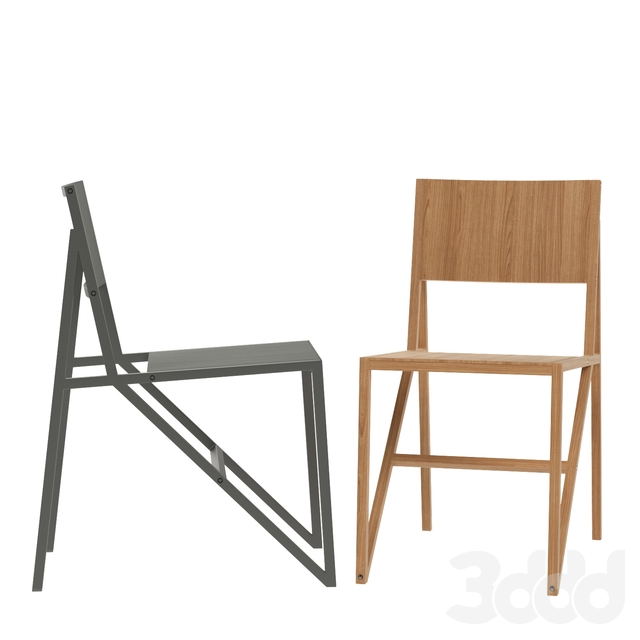 Established and Sons Single Frame Chair by Wouter Scheublin