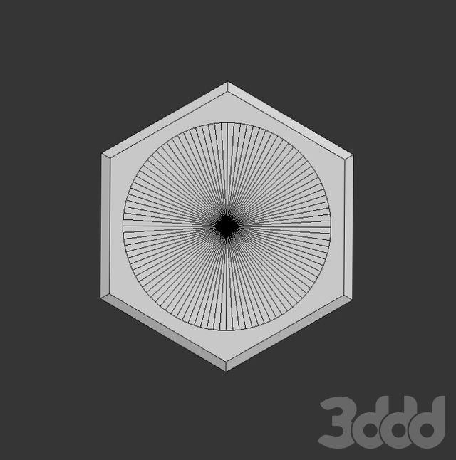 Настенная 3D плитка ASHOME #2