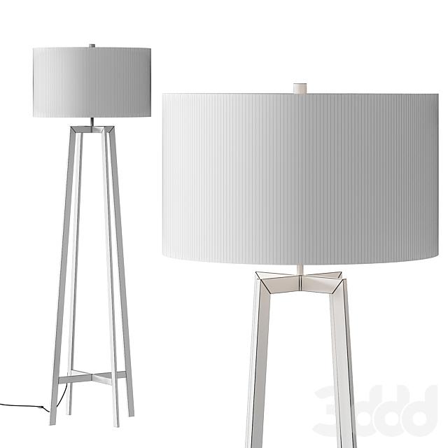 Crate & Barrel Castillo Floor Lamp