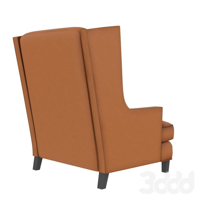 Кресло Luxe Leather High Wing Back