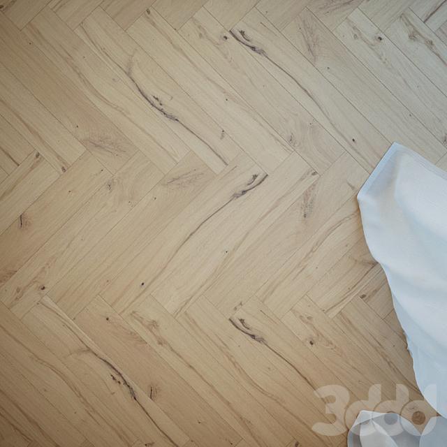 Gardenia Knot Oak Floor
