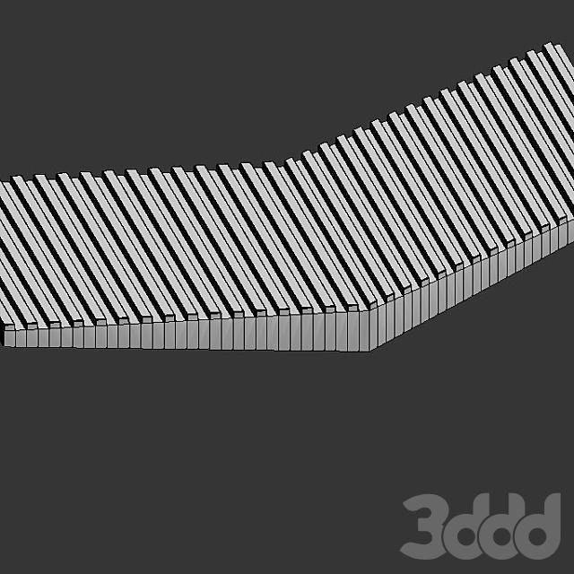 Настенная 3D плитка ASHOME #10