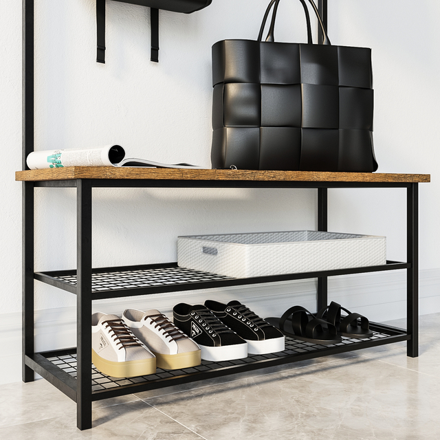 Прихожая Industrial Shoe Rack Bench