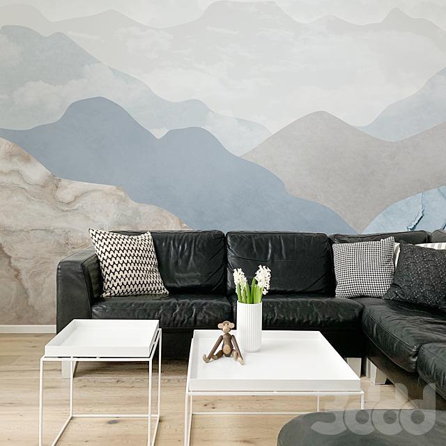 Creativille | Wallpapers | 2505 cloudy mountains