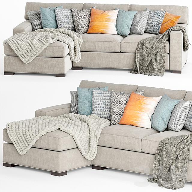 Crate and Barrel Axis II sofa