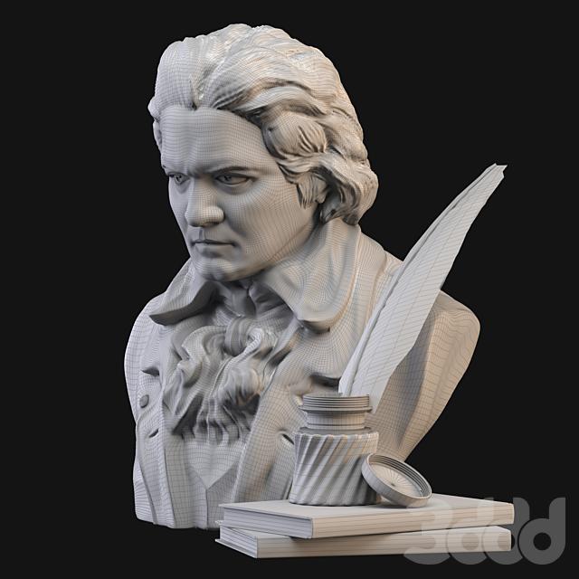 Бетховен бюст