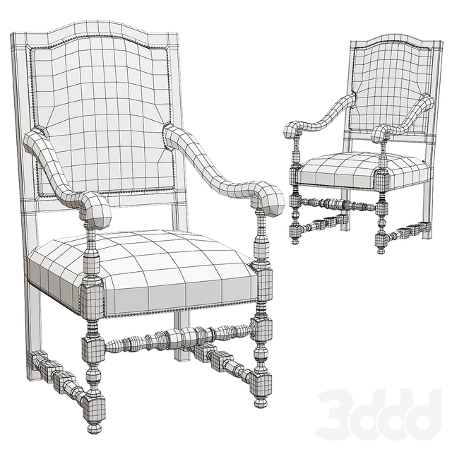 Restoration Hardware armchair