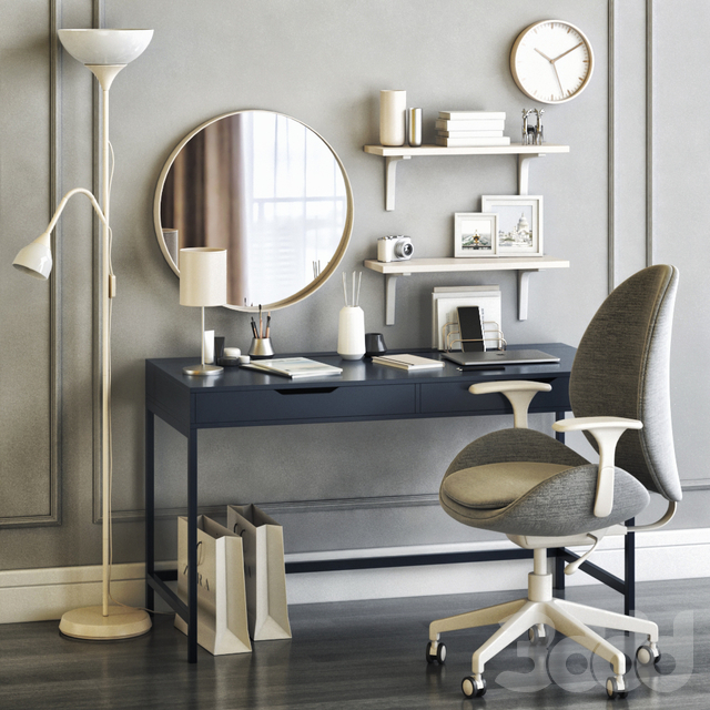 IKEA women's dressing table and workplace