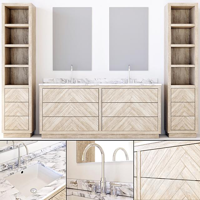 RH bathroom furniture