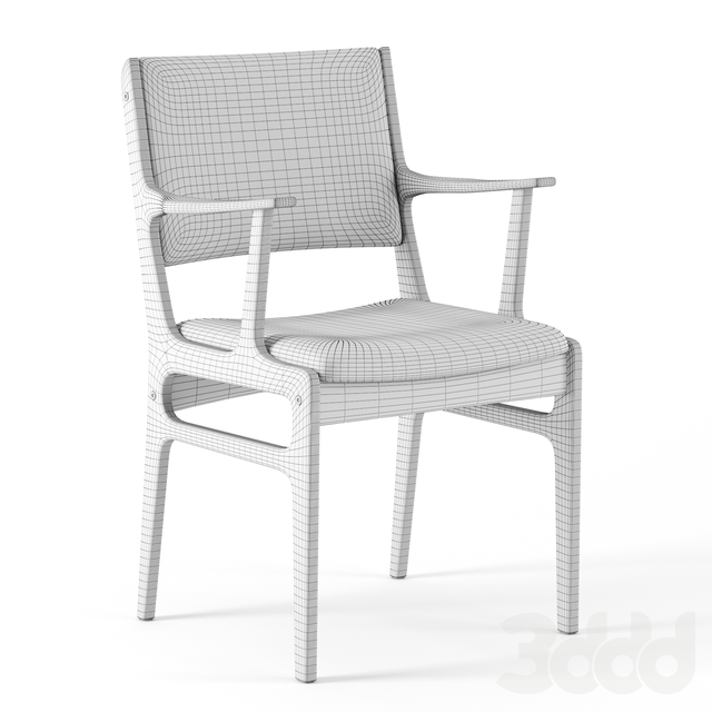 Coppice Upholstered Dining Armchair by Westelm
