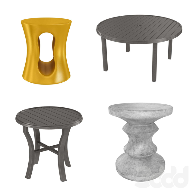 Four tables collection