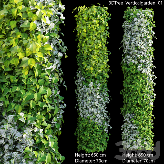 Verticalgarden - Green wall 01