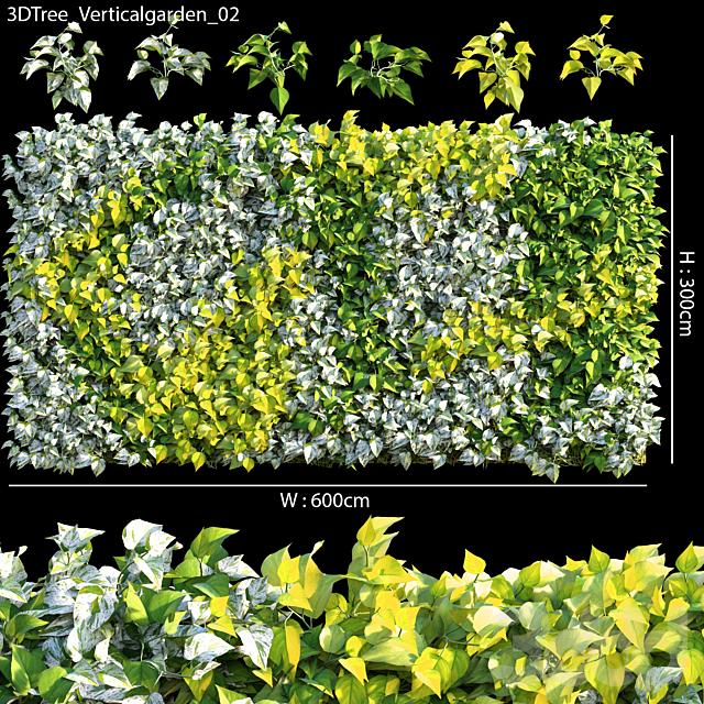 Verticalgarden - Green wall 02