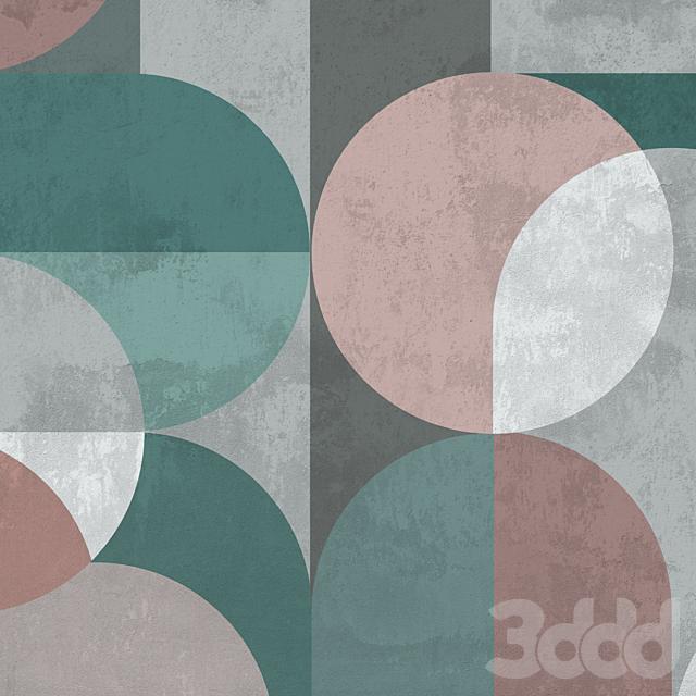 Creativille | Wallpapers | 8112 Contemporary circles