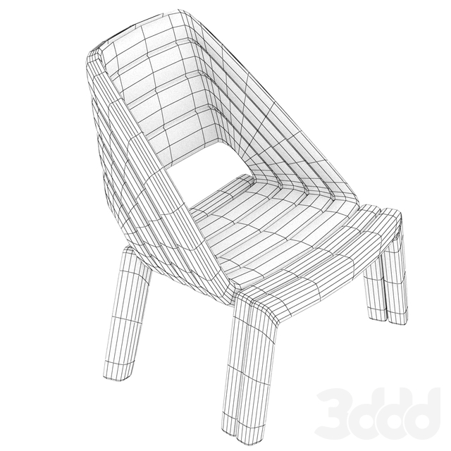 Nuance Lounge Chair by Luca Nichetto