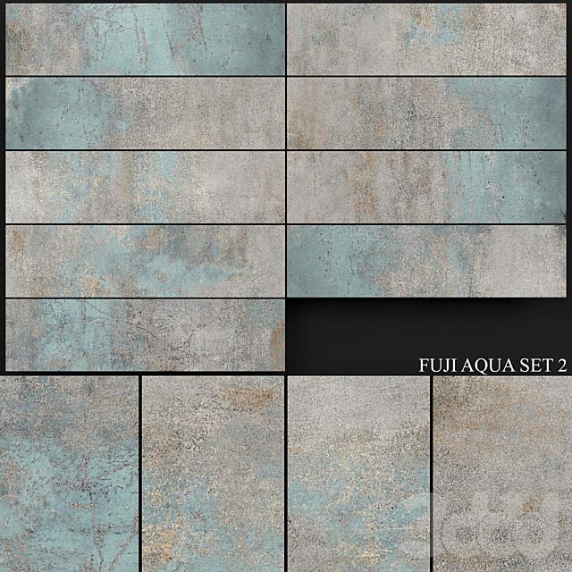 Yurtbay Seramik Fuji Aqua Set 2