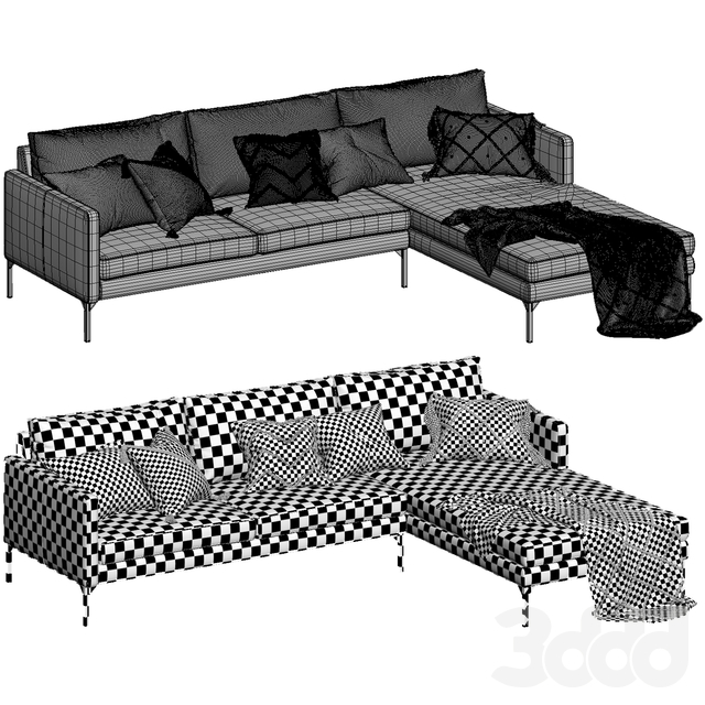 Globewest Bogart 2 seater sofa and chaise