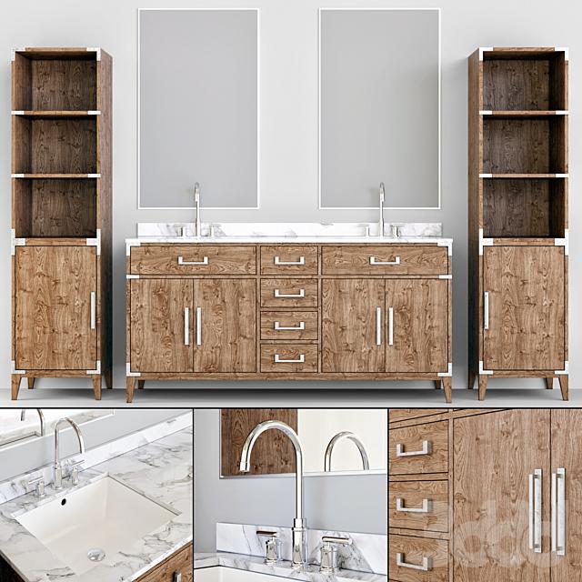 RH bathroom furniture 2