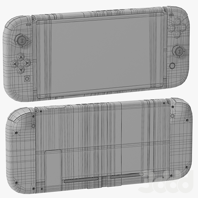 Nintendo Switch with Gray Joy Con
