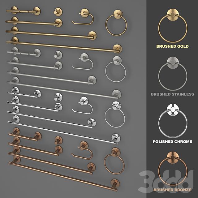 Delaney 900 Series Bathroom Accesories Kit
